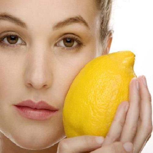 Lemon home remedy for acne