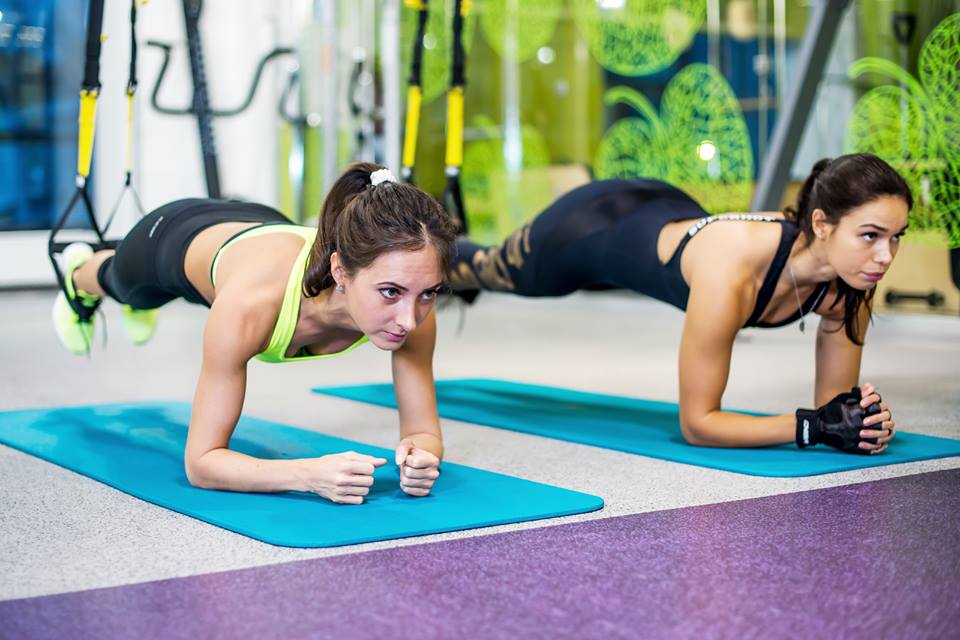 Fit Bottomed Girls gym for perfect body