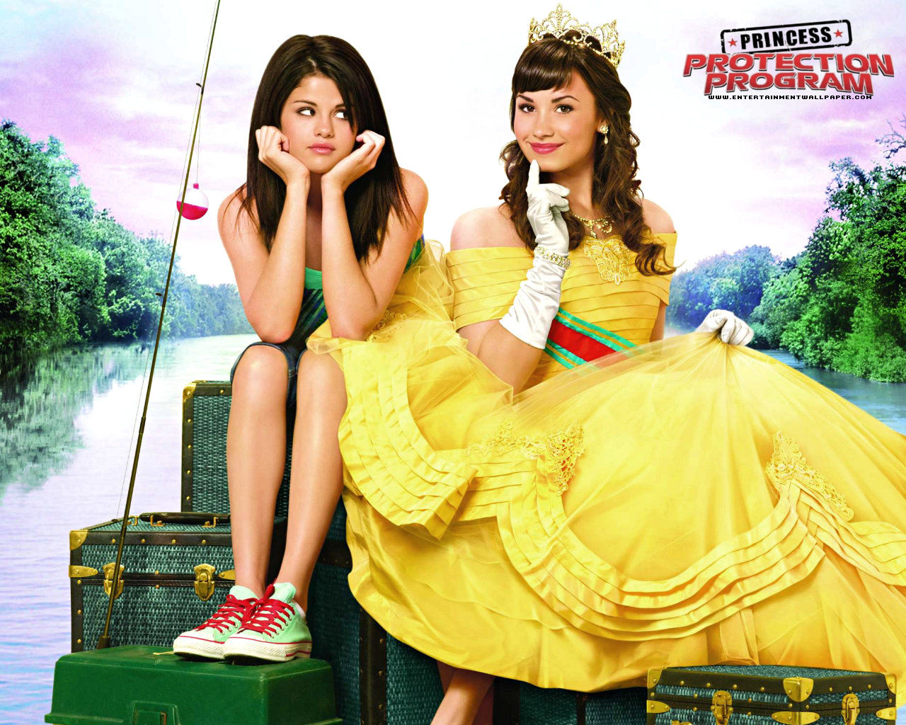 Princess Protection Program, Demi Lovato and Selena Gomez